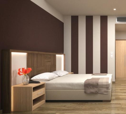 Παρουσίαση επίπλωσης ξενοδοχειακού δωματίου